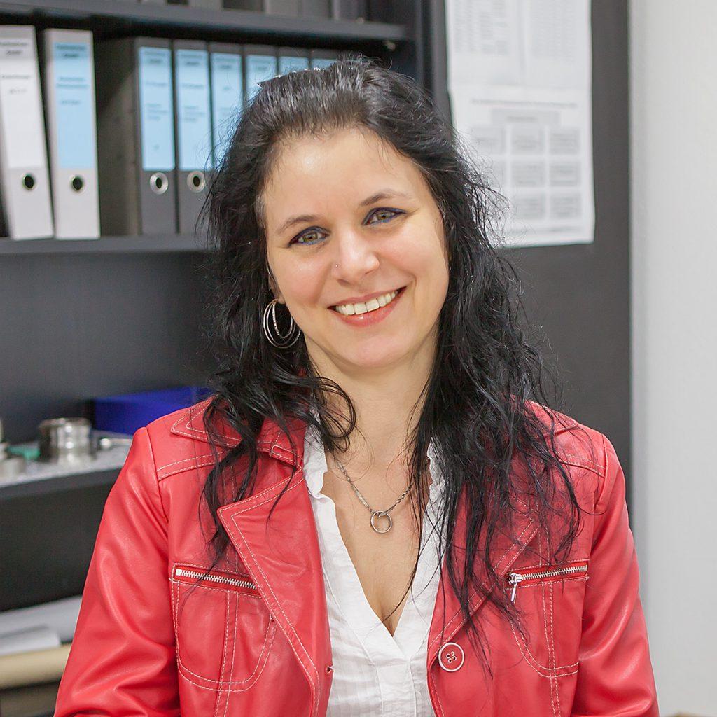 Simone Ziehe, Auftragsbearbeitung/Büro