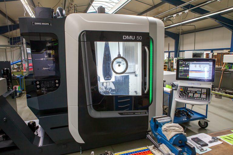 Modernisierung des Maschinenbestandes durch DMU 50