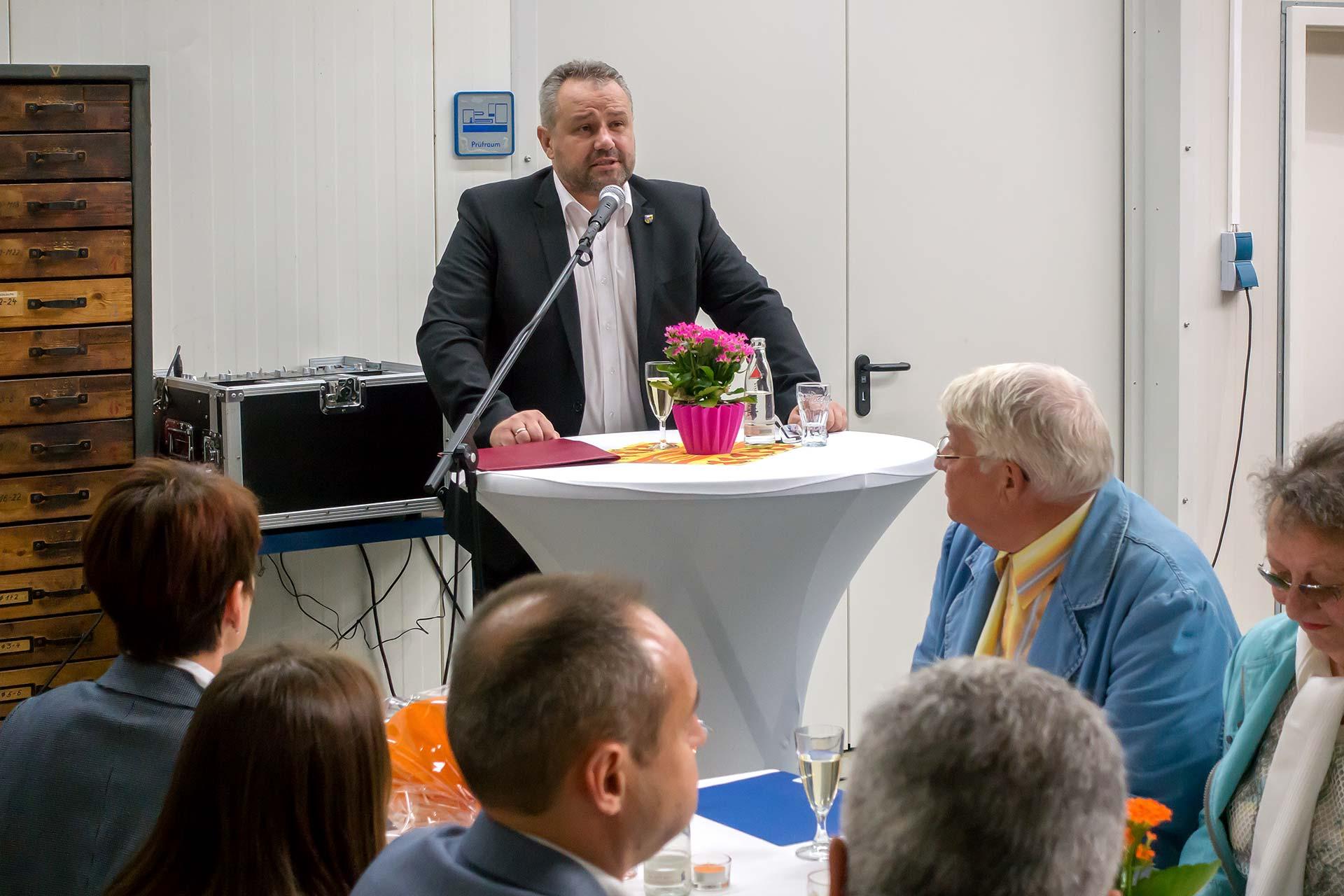 25 Jahre Technotrans - Ansprache des Bürgermeisters