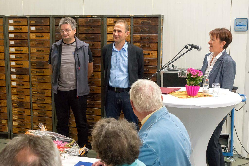 25 Jahre Technotrans - Ehrenurkunden für langjährige Mitarbeiter